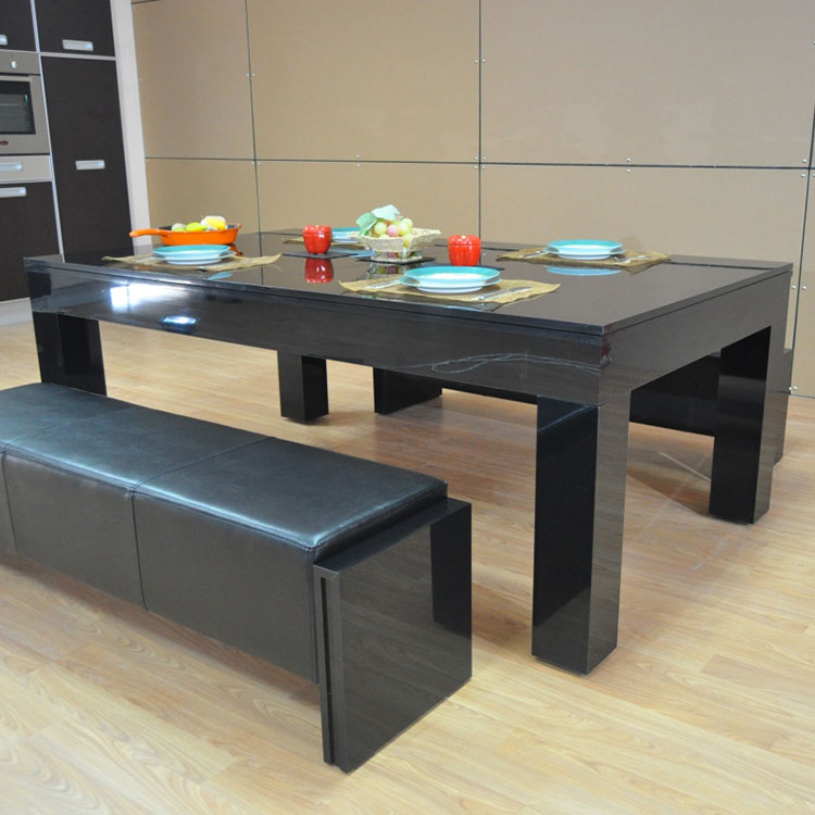 chicago high gloss dining pool table seats 810  lycroft